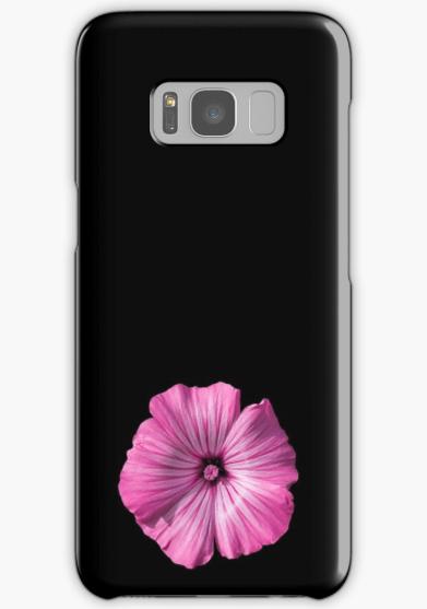 pink hibiscus Samsung Galaxy case