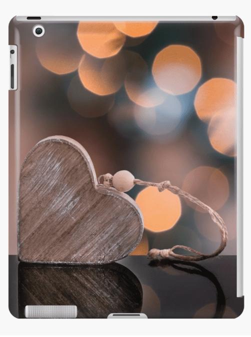 Love heart iPad cases