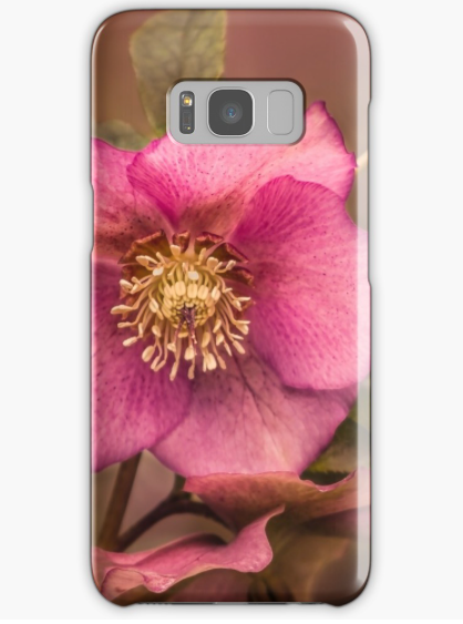 Christmas Rose Samsung Galaxy Phone case