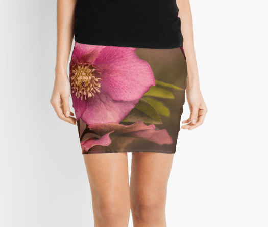 Christmas Rose pencil skirts