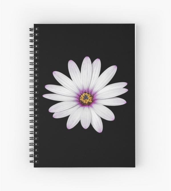 African Daisy Notebook
