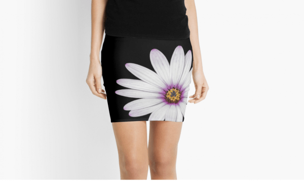 African Daisy pencil skirts
