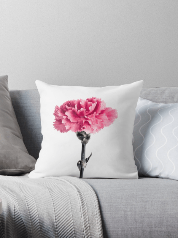 Carnation flower Cushions - small