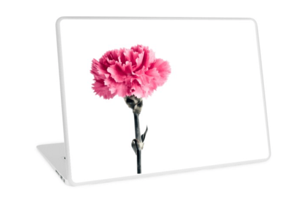 Carnation Laptop Skins