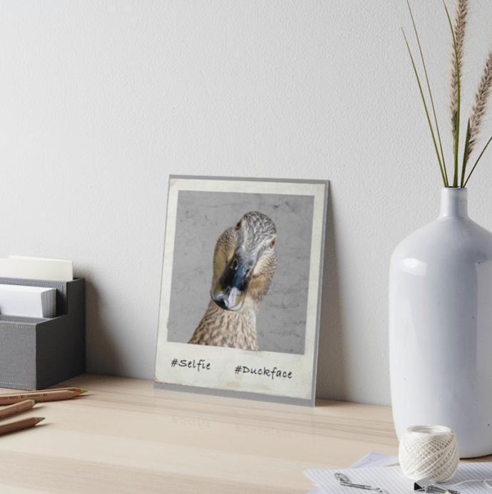 #Duckface artboard