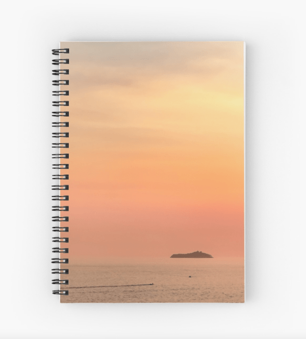 Dubrovnik sunset Notebook