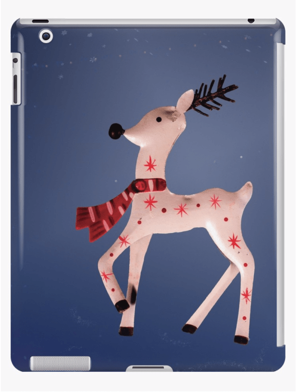 Christmas Reindeer iPad cases