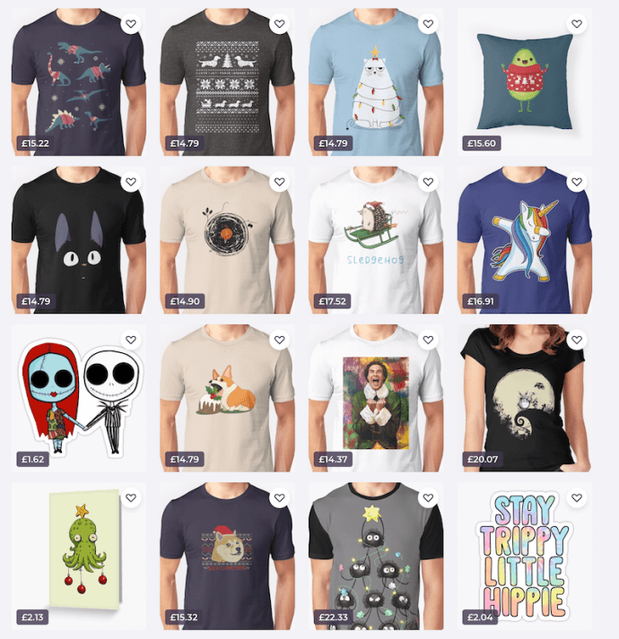 Christmas on Redbubble