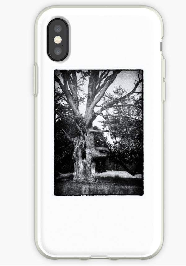 Spooky Tree iPhone cases