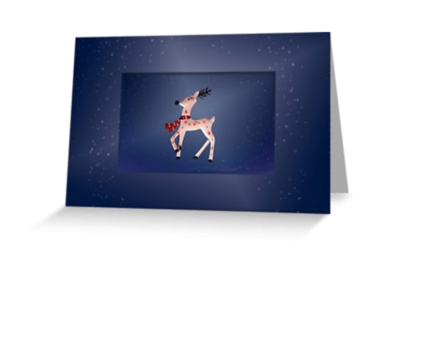 Christmas Reindeer Cards