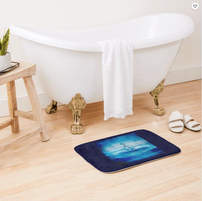 Redbubble bath mats