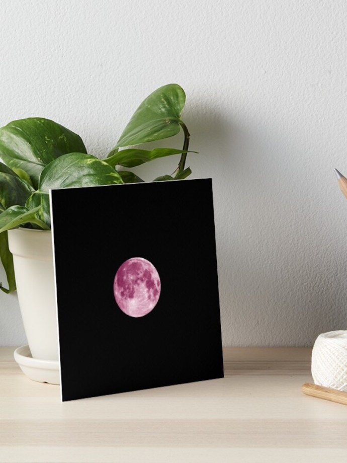 moon wall art