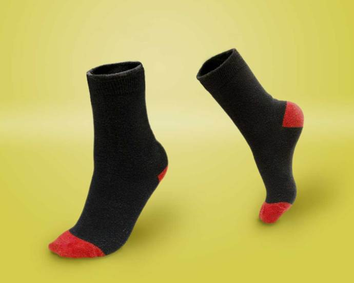 dancing socks for my product photograph in Jubilant July