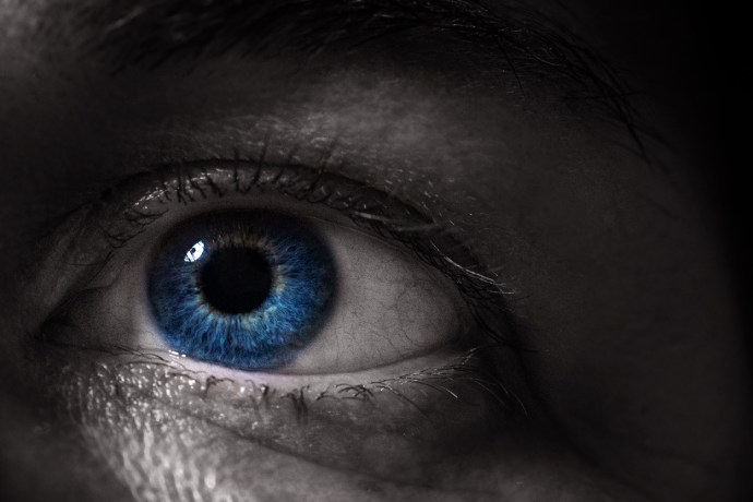 close up of my eye for the Woman week in 52 frames for Super September