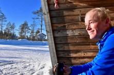 Modell och vackraste utsikten: Eric Forsberg