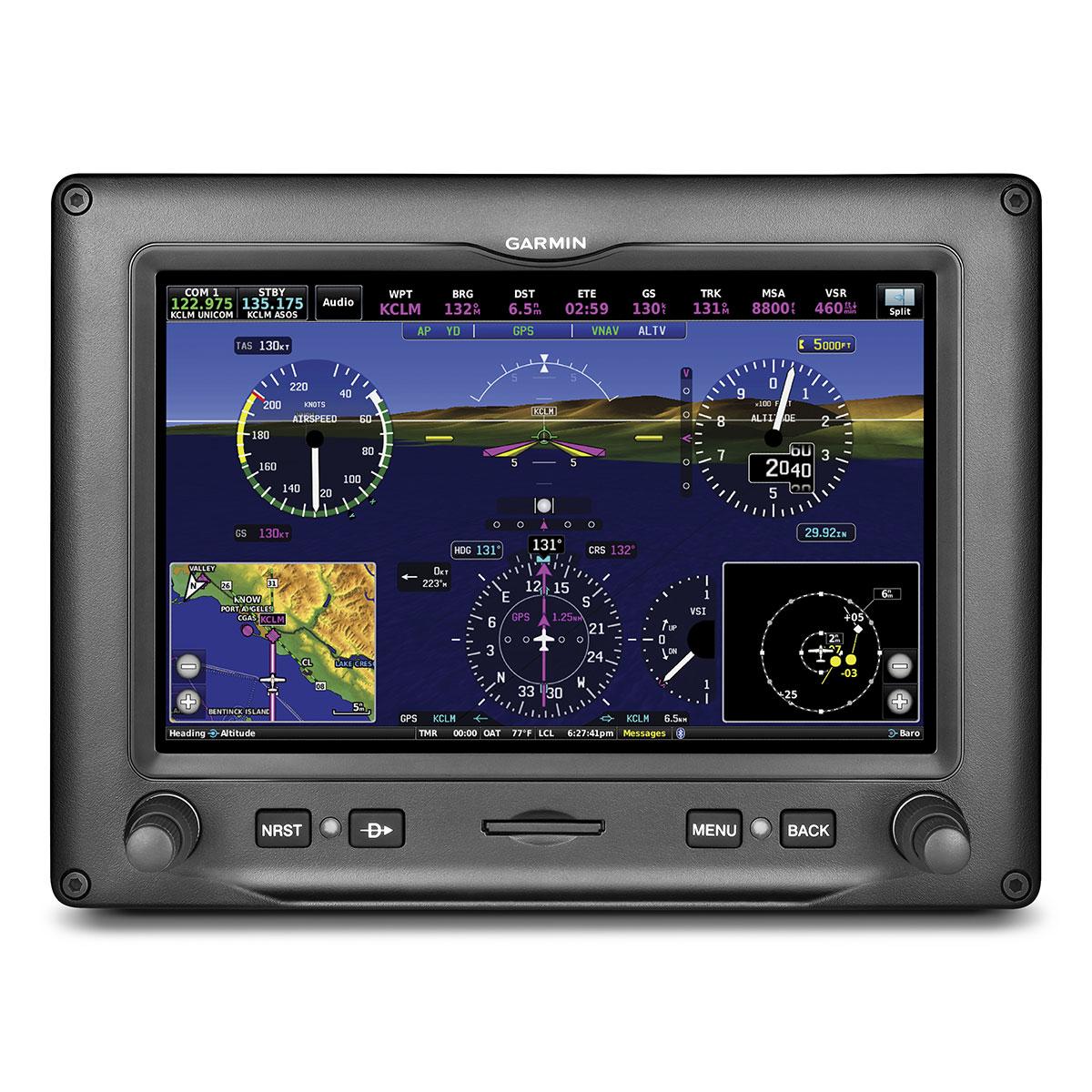 Garmin Gdu 455 Experimental Garmin G3x Touch 7 Landscape Display W Siriusxm 010 10
