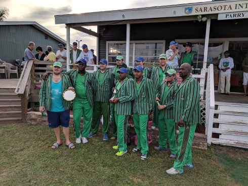 2017 Six-a-Side Cup and Plate Winners Village Greenies