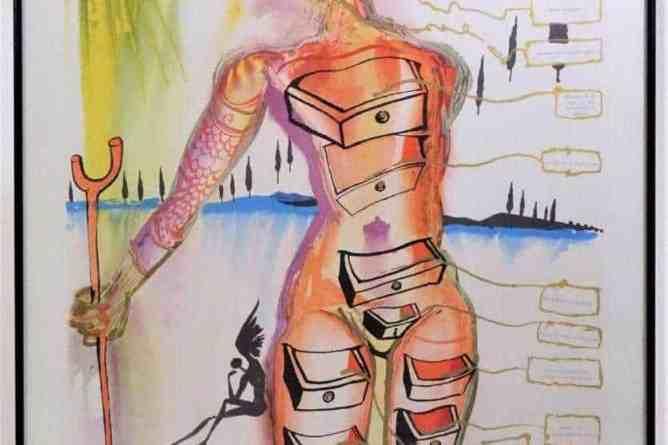 Salvador Dali (1904-1989), Colored Lithograph