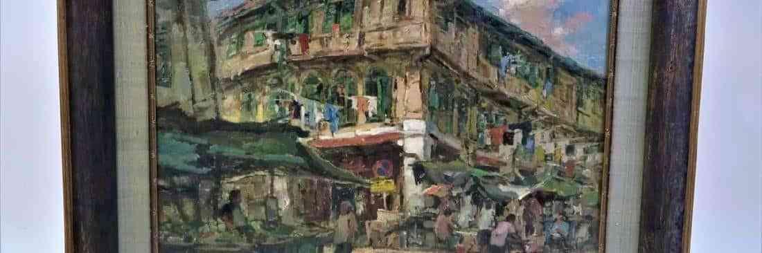 Tan Choh Tee (born 1942) Singapore, Original O/C