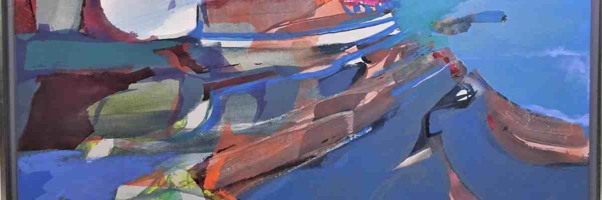 Syd Solomon (1917-2004) Oil and acrylic / Canvas