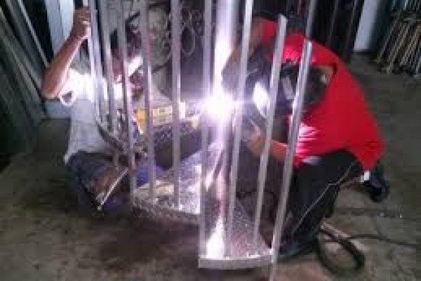 Sarasota Metal Spiral Stairs1