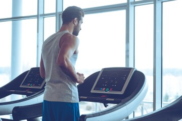 man exercising to boost his testosterone levels