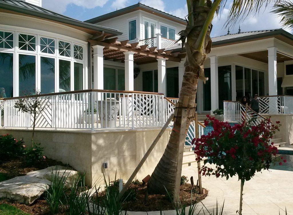 Argentum Welding- Custom Chippendale railing -Bird Key