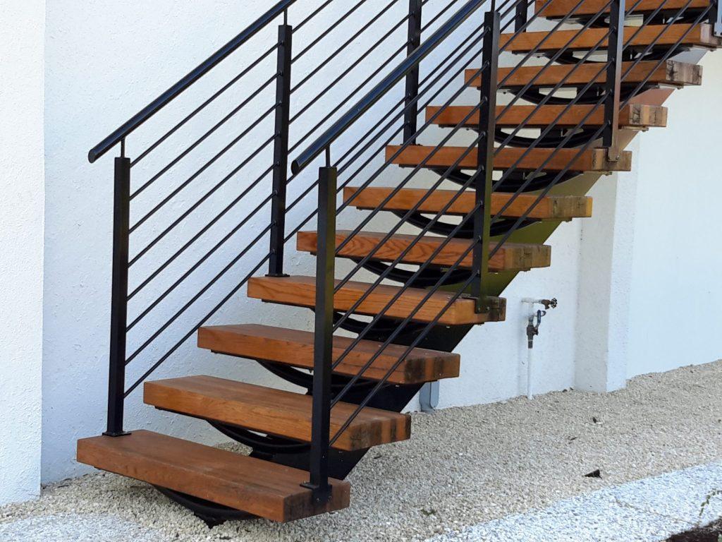 Argentum Welding-Architectural Mill-Work- Wood treads