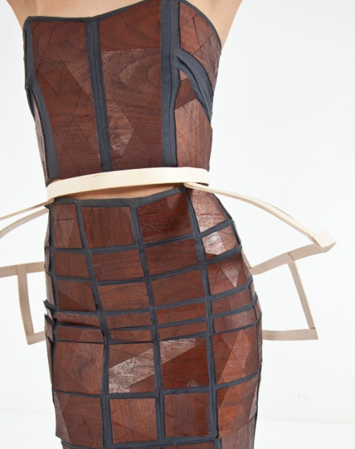 """""""The Wooden Dress"""" by Whitley Floyd & Wood Street Studio"""