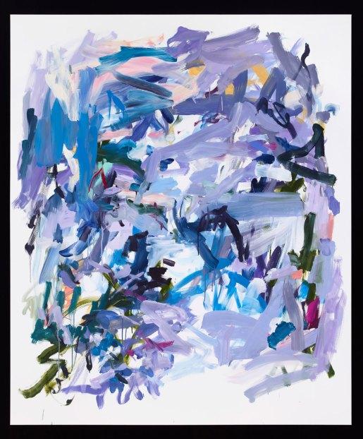 "Yolanda Sanchez, Something in the Air, oil on canvas, 2012, 70"" x 60"""