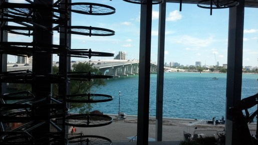 """Photo:  Perez Art Museum Miami Partial View of Ai Weiwei's """"Forever"""" installation of Chinese bicycles"""