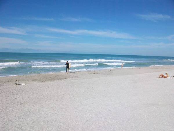 Turtle Beach & Blue Waves in Sarasota Florida