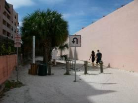 Secret Passage to Crescent Beach in Sarasota Fl