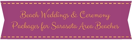 Beach Wedding Packages, Siesta key & Sarasota Florida Image 1