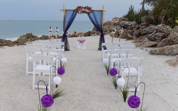 Siesta Enchantment Beach Wedding Package by SarasotaWeddingIdeas.com Image 1