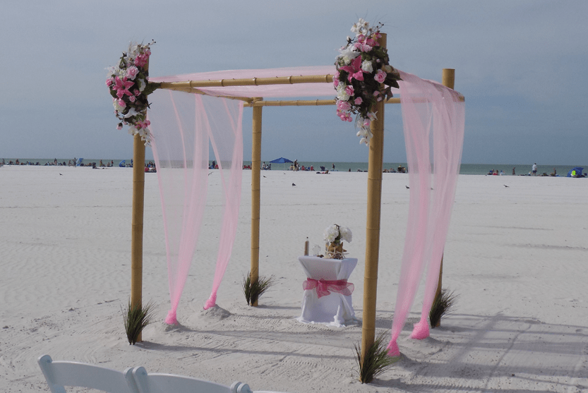 Lido Key Beach Wedding
