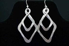 Diamond Double Earrings