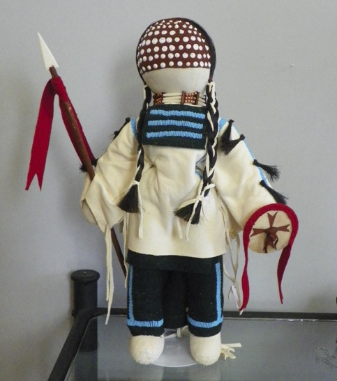 Crow Indian Doll by Mary Lou Big Day