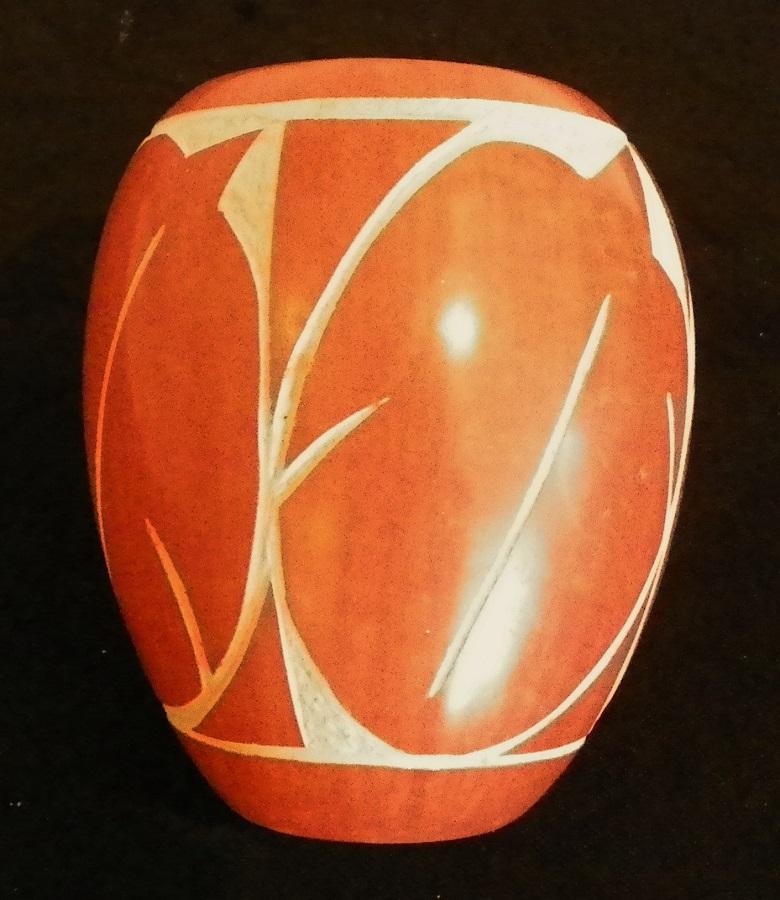 Dena & Elston Yepa Vase..Jemez Pueblo