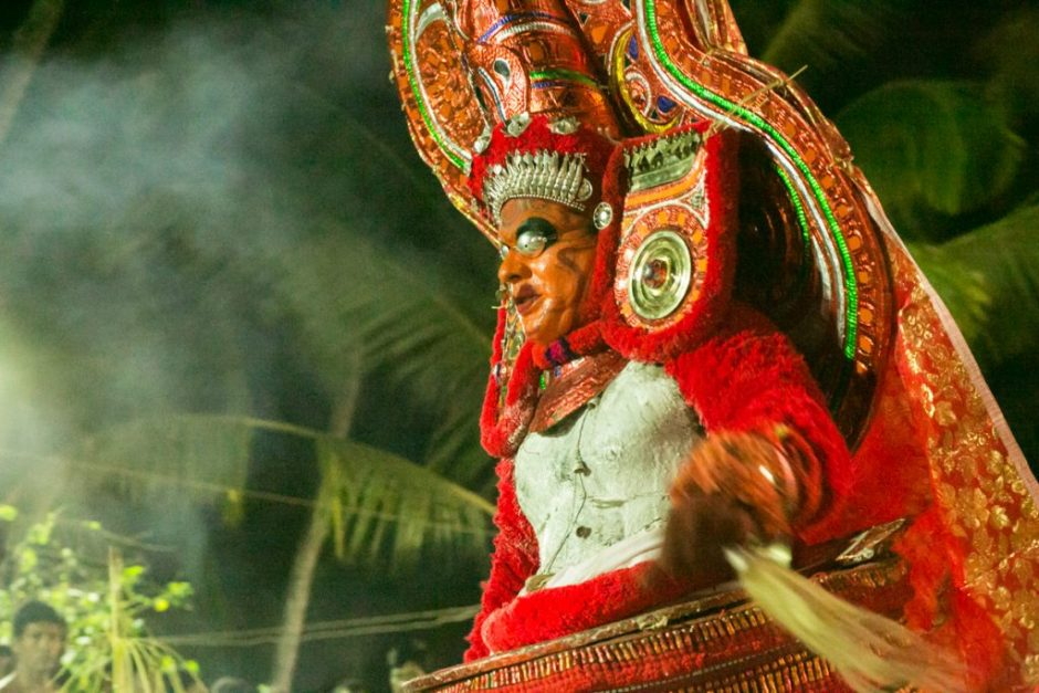The blood-curdling Bhairavan Theyyam of Lord Shiva