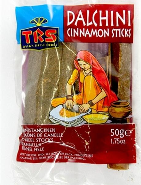 Cinamonų lazdelės TRS, 50g