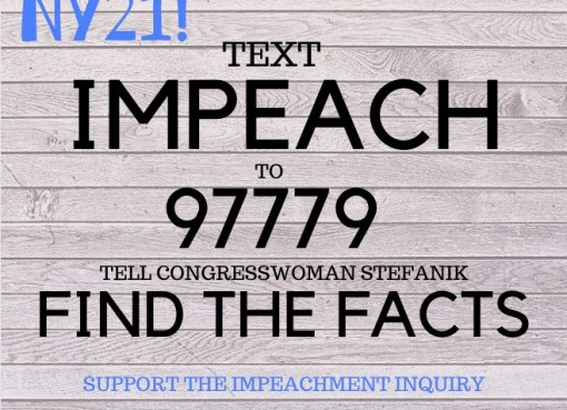 Text IMPEACH to 97779