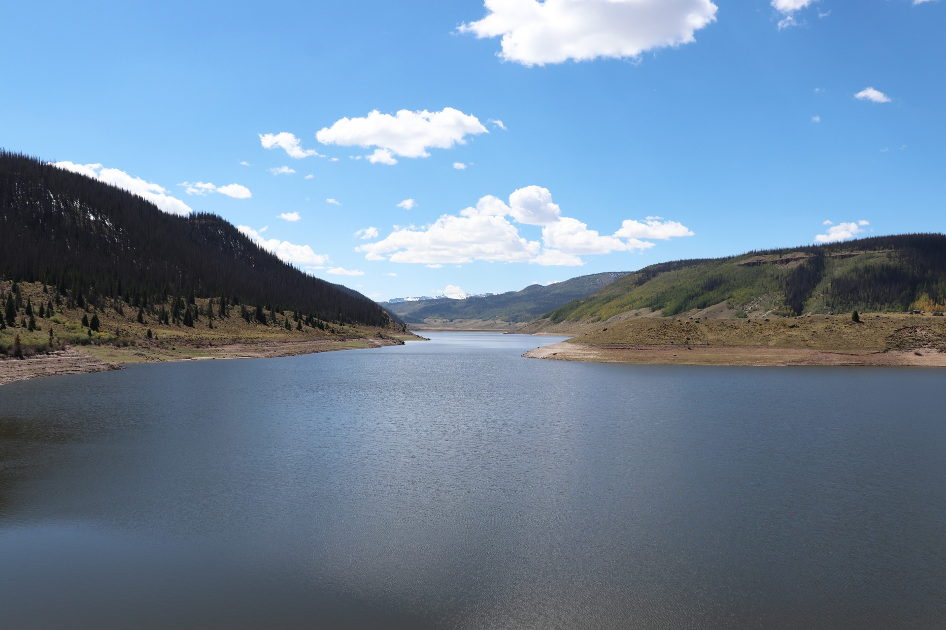 Continental Reservoir Photographed By Sara Turbyfill Near North Clear Creek Falls In Colorado.
