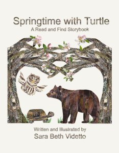 springtime with turtle front cover