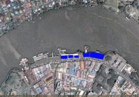 2008 aerial of ex-old Gambier str. market buildings