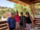 Brunch at Elva's, with Theresa, Lupe and Belinda - like old times.