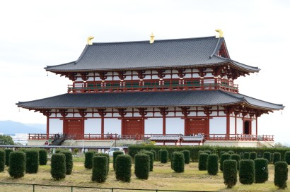The Heijo palace! Very beautiful~