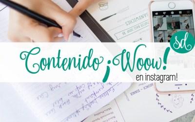 Las 5 C's Para Crear Contenido ¡WOOW! En Instagram