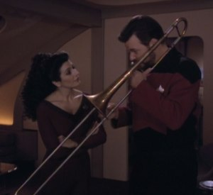 "*Insert your own joke involving the word ""tromboner"" here* (Image courtesy of the Star Trek Wiki)"