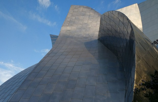 Shot of the Walt Disney Concert Hall